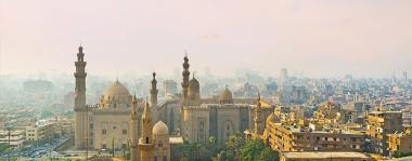 Beautiful landscape of Cairo, Egypt.
